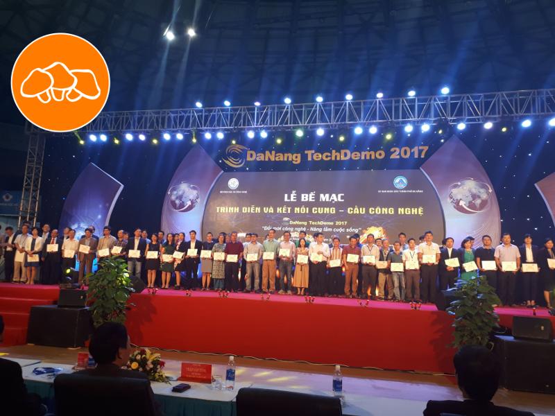 """HFun Trao đổi chuyển giao công nghệ trong sự kiện """" Đà Nẵng TechDemo 2017  trình diễn và kết nối cung cầu công nghệ"""""""